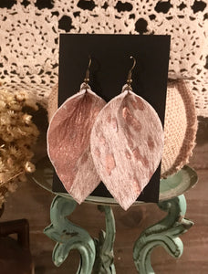 Acid Wash Rose Gold Earrings