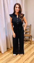 Load image into Gallery viewer, Black Solid Jumpsuit