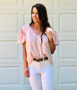 Blooming Puff Sleeve Top