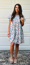 Load image into Gallery viewer, Blooming Floral Print Dress