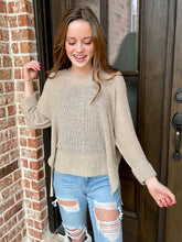 Load image into Gallery viewer, Crew Neck Knit Sweater