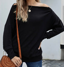 Load image into Gallery viewer, Black Ribbed Zip Knit Top
