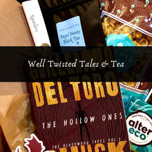 Load image into Gallery viewer, Well Twisted Tales & Tea Box - Well Twisted Tales & Tea