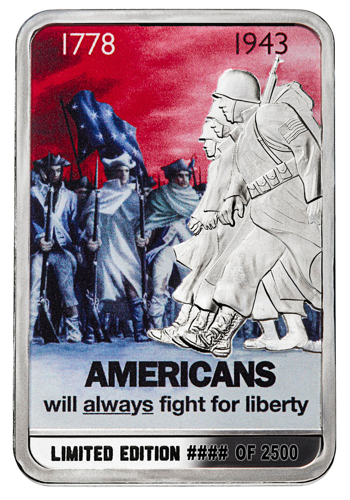 Americans Will Always Fight for Freedom