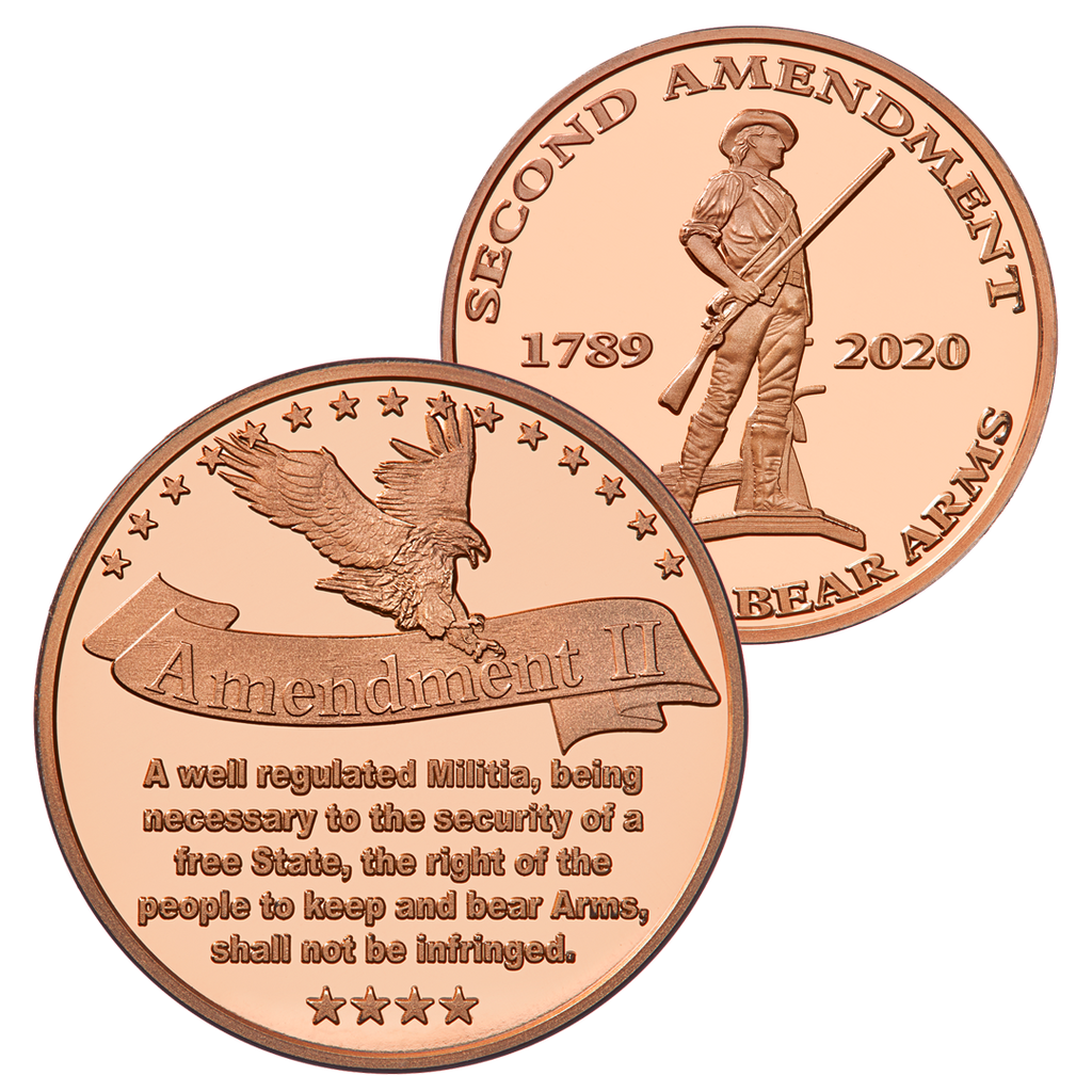 Second Amendment Coin - Copper