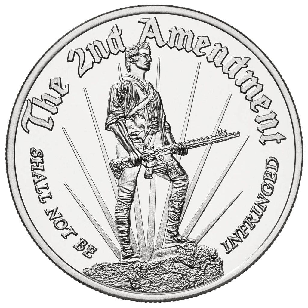 Modernized Minute Man - Solid Silver Round