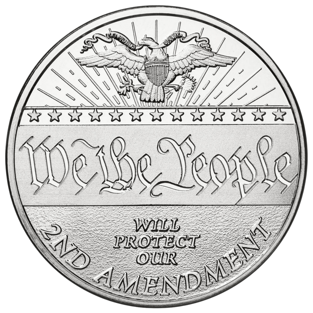 We The People - Solid Silver Round
