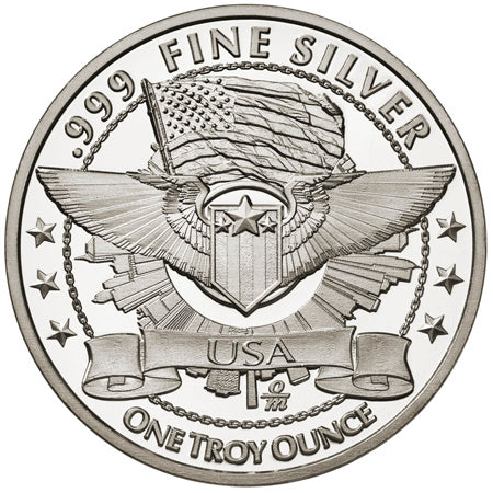 Area 51 Solid Silver Collectible Coin