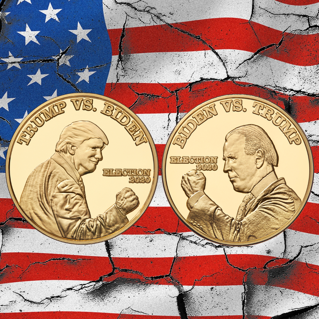 Commemorative Collectible Coin - Trump VS. Biden 2020