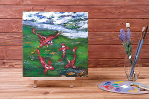 New arrival - Winder pond with fish by Svetlana Ugolnikova