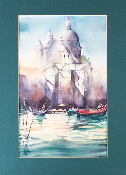 Venice by Irina Meleshkina, 32.5cm*46cm, watercolour