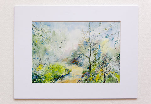 Spring by Oksana Romanova, 30cm*40cm, watercolor