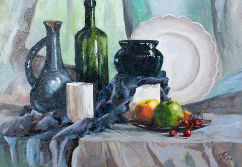 Still life by Elena Vorontsova, 40cm* 50cm, oil painting