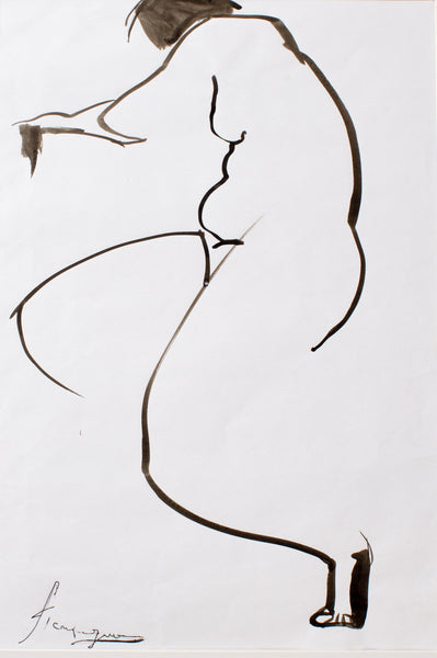Composition #23 by Rita Pandaria, 44cm*57cm, ink drawing