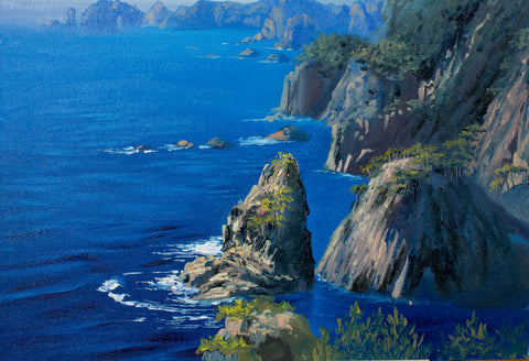 Seascape by Nadezda Ilyina, 30cm*40cm, oil painting