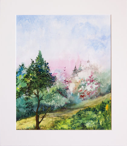 Spring by Oksana Romanova, 39cm*46cm, watercolor