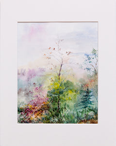 Spring by Oksana Romanova, 28cm*35.5cm, watercolor