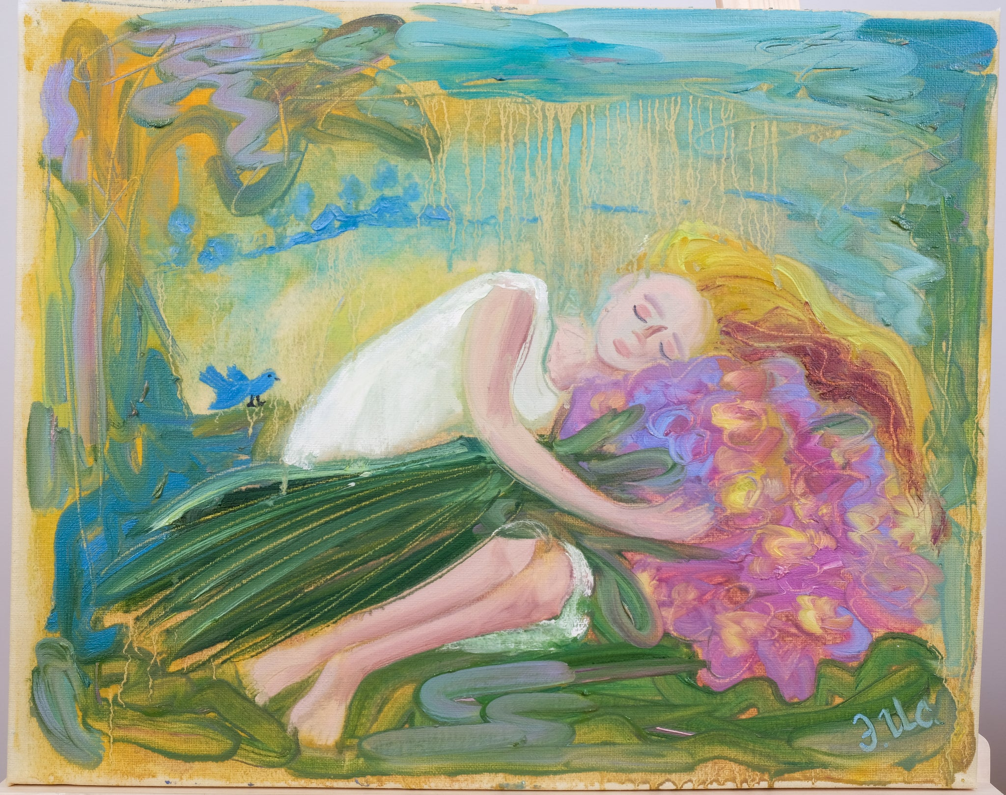 Sweet afternoon dream by Elvira Isaeva, 40cm*50cm, oil painting