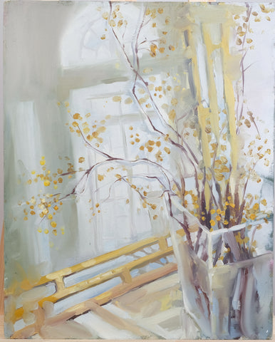 Spring by Julia Mineeva, 50cm*60cm, oil painting