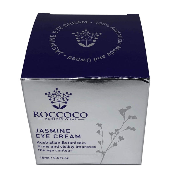 Jar of Roccoco Botanicals Jasmine Eye Cream