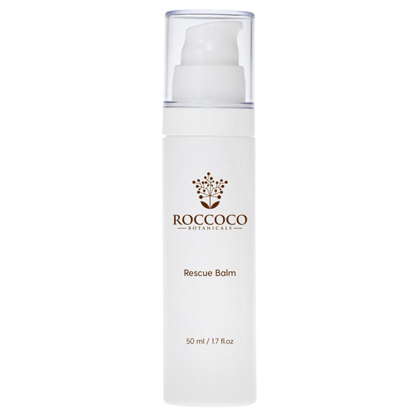 Bottle of Roccoco Botanicals Rescue Balm