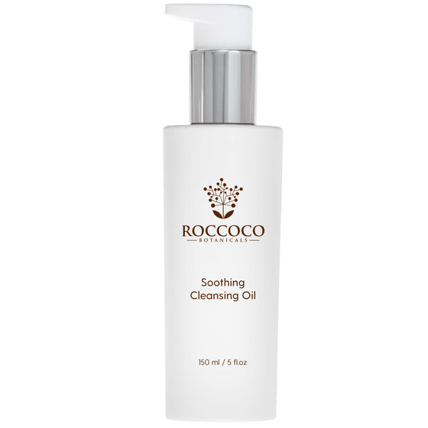 Bottle of Roccoco Botanicals Soothing Cleansing Oil