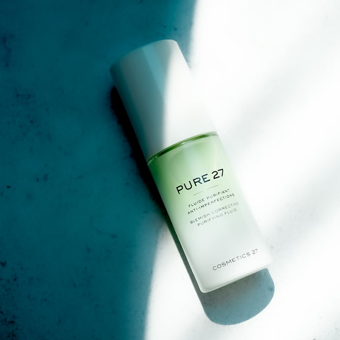 Pure 27, the New Generation of Blemish Repair to Reveal your Clearer Skin yet