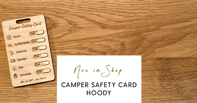 Die neue Camper Safety Card WOODy