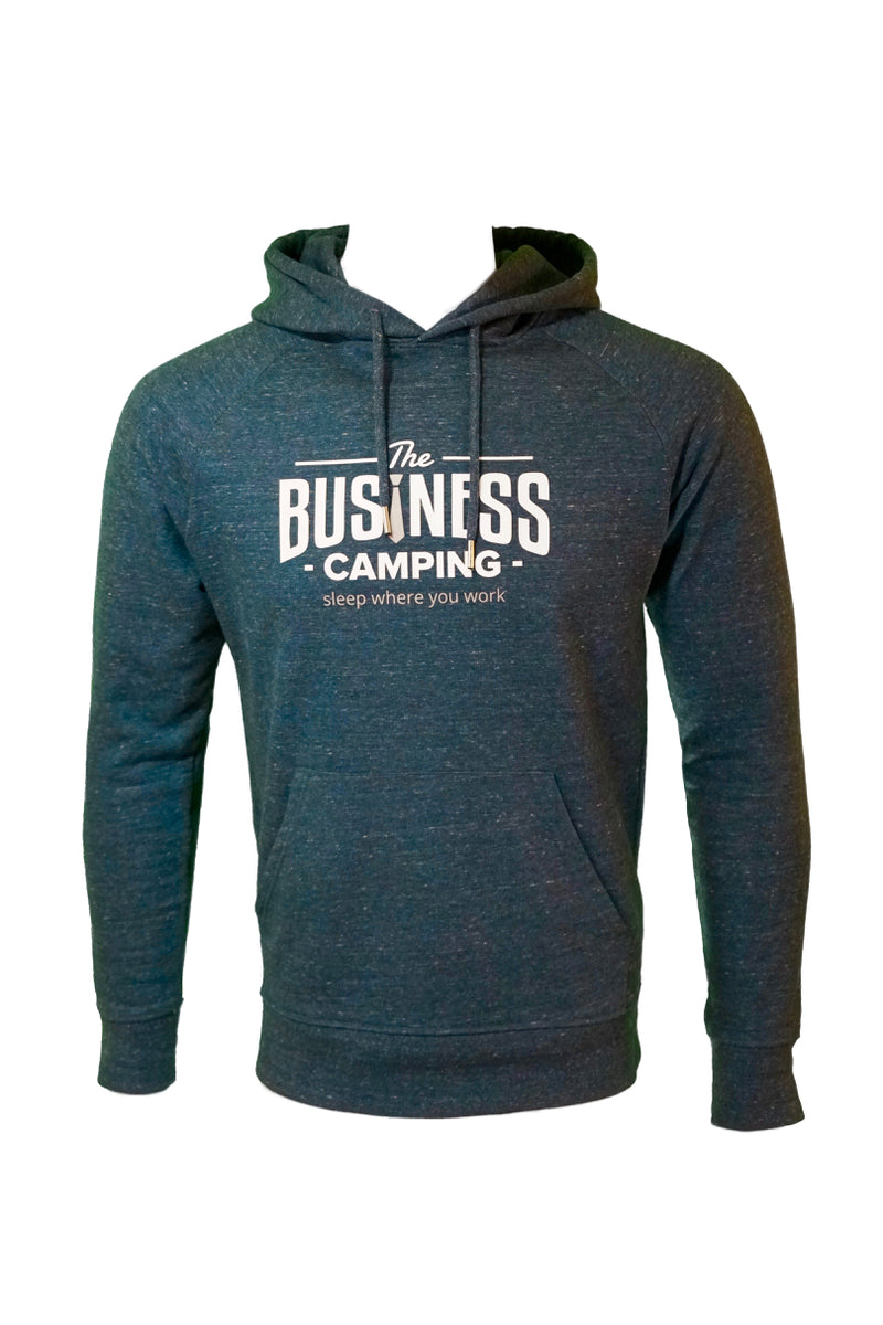 Hoodie Business Camping (WORKER) - denim