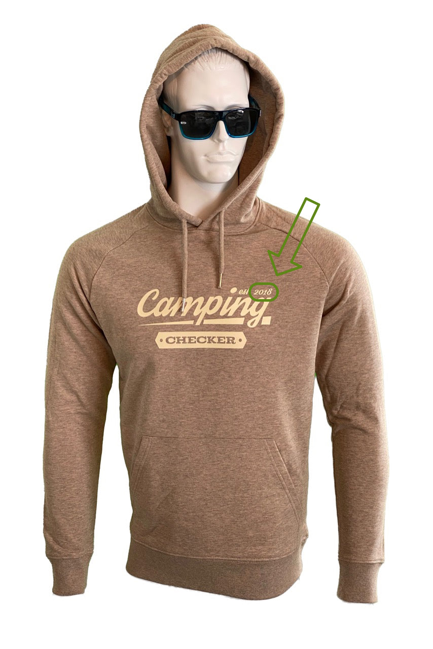 Camping Checker Hoodie (SAND)