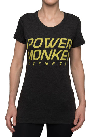 Women's Power Monkey Fitness Tee