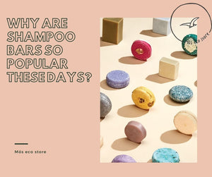 Why are shampoo bars so popular these days?