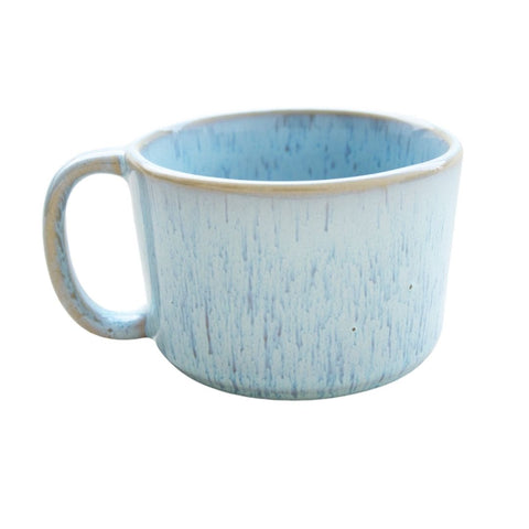 Salema Light Blue Stoneware Mugs