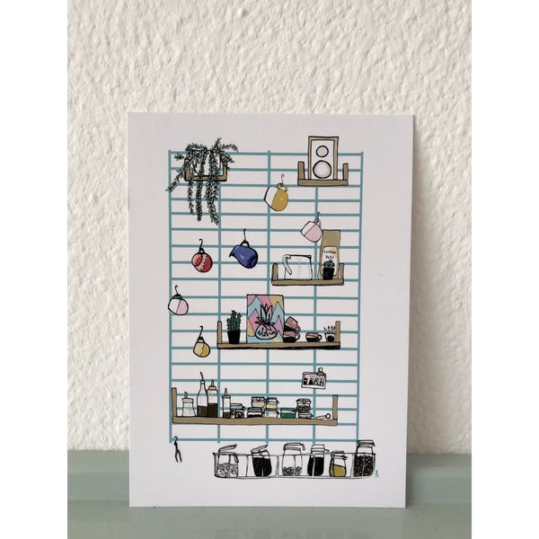 Algarve Postcard set of 6, plastic free, zero waste, sustainable, Mos eco store, Portugal, Europe,