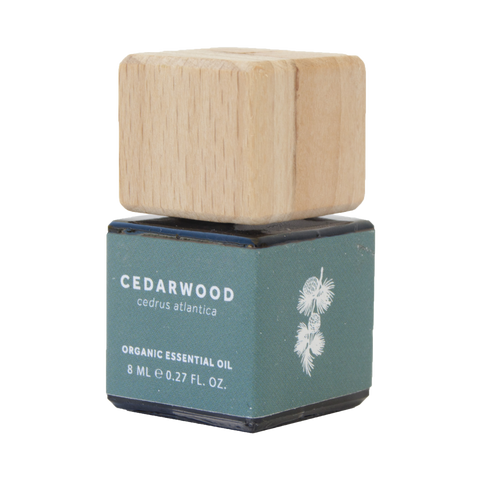CEDARWOOD ESSENTIAL OIL - ORGANIC