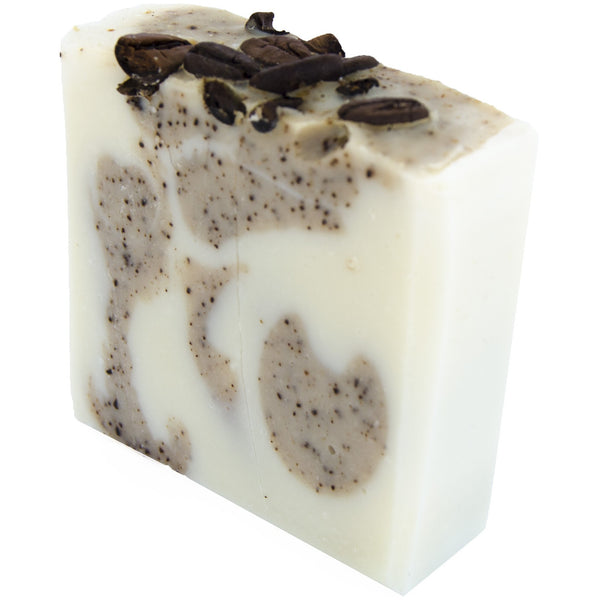 Coffee Scrub Soap, plastic free, zero waste, sustainable, Mos eco store, Portugal, Europe,