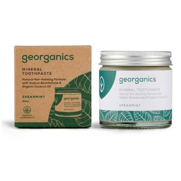 Spearmint Toothpaste in a Jar - Georganics - Mos eco store