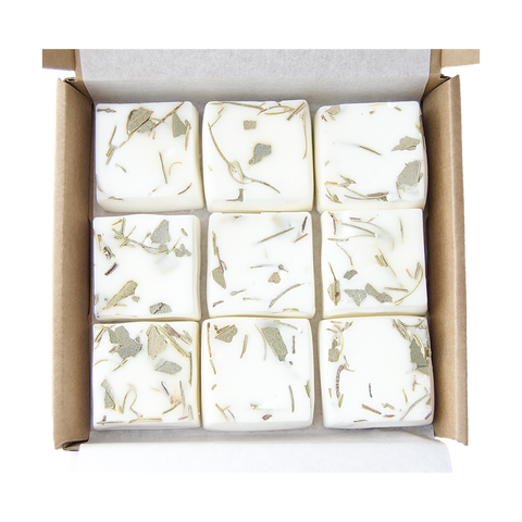 Rosemary & Eucalyptus wax melts, plastic free, zero waste, sustainable, Mos eco store, Portugal, Europe,