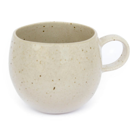 Camillo Speckled Oatmeal Stoneware Mugs - Mos eco store