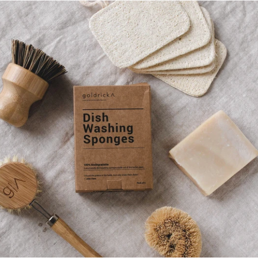 Loofah Dishwashing Sponge, plastic free, zero waste, sustainable, Mos eco store, Portugal, Europe,
