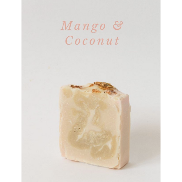 Mango and Coconut Soap, plastic free, zero waste, sustainable, Mos eco store, Portugal, Europe,