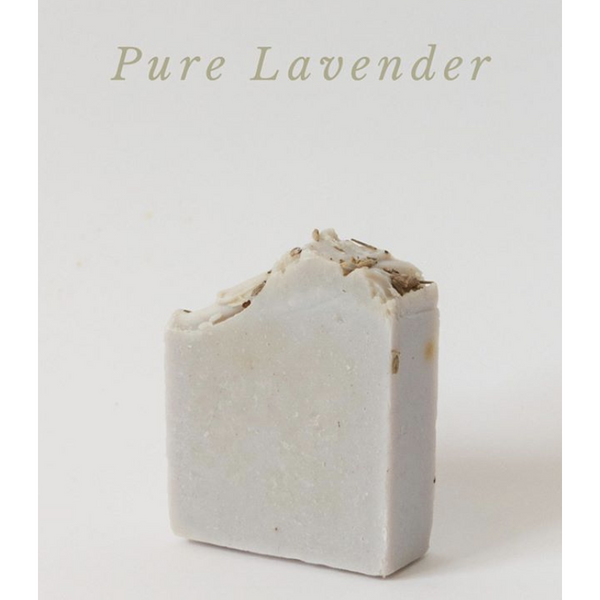 Pure Lavender Soap, plastic free, zero waste, sustainable, Mos eco store, Portugal, Europe,