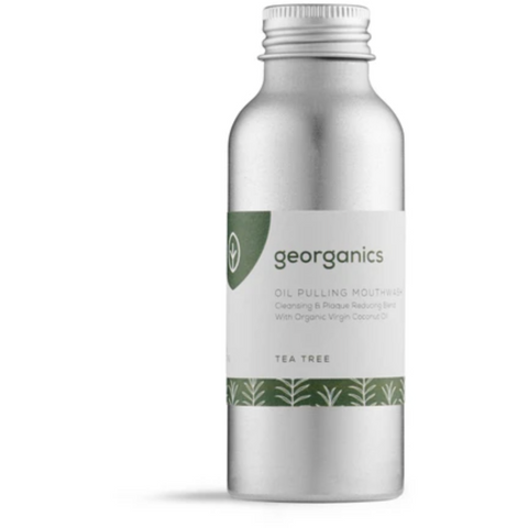 Oil Pulling Mouthwash - Tea Tree - Georganics - Mos eco store