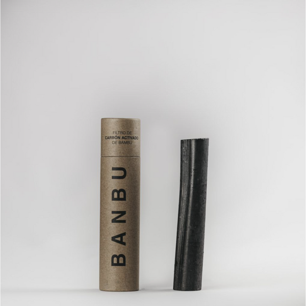 Bamboo activated carbon filter -  Banbu - Mos eco store