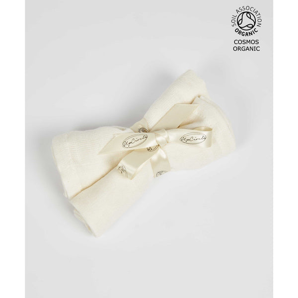 ORGANIC MUSLIN CLOTHS - Upcircle, plastic free, zero waste, sustainable, Mos eco store, Portugal, Europe,