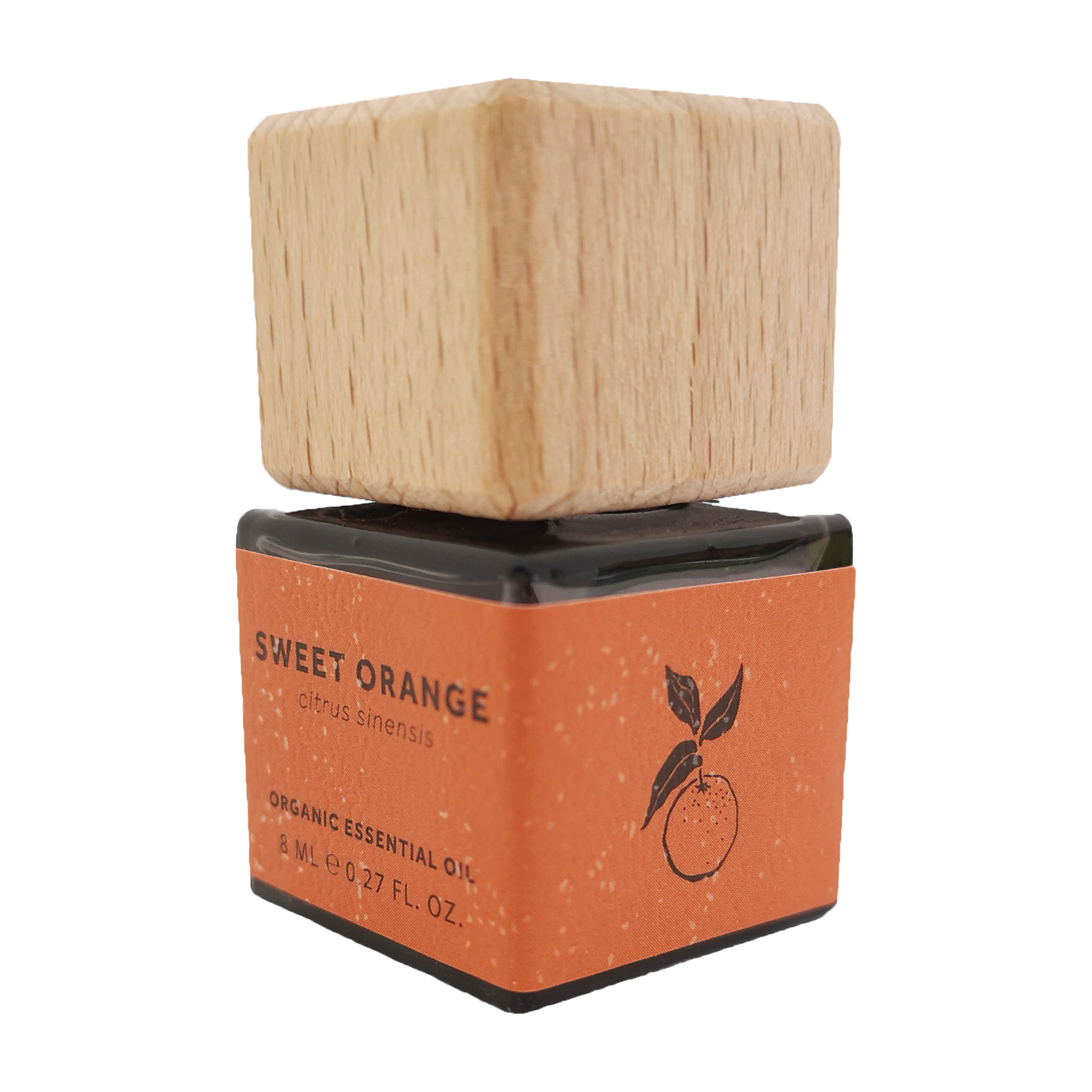 Sweet Orange Essential Oil - Organic, plastic free, zero waste, sustainable, Mos eco store, Portugal, Europe,