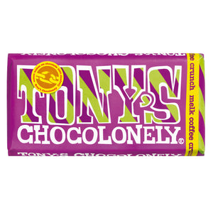 Tony's Chocolonely Milk Coffee Crunch 180g