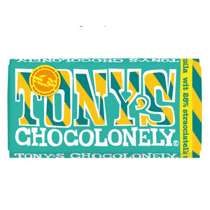 Tony's Chocolonely White Straciatella 180g