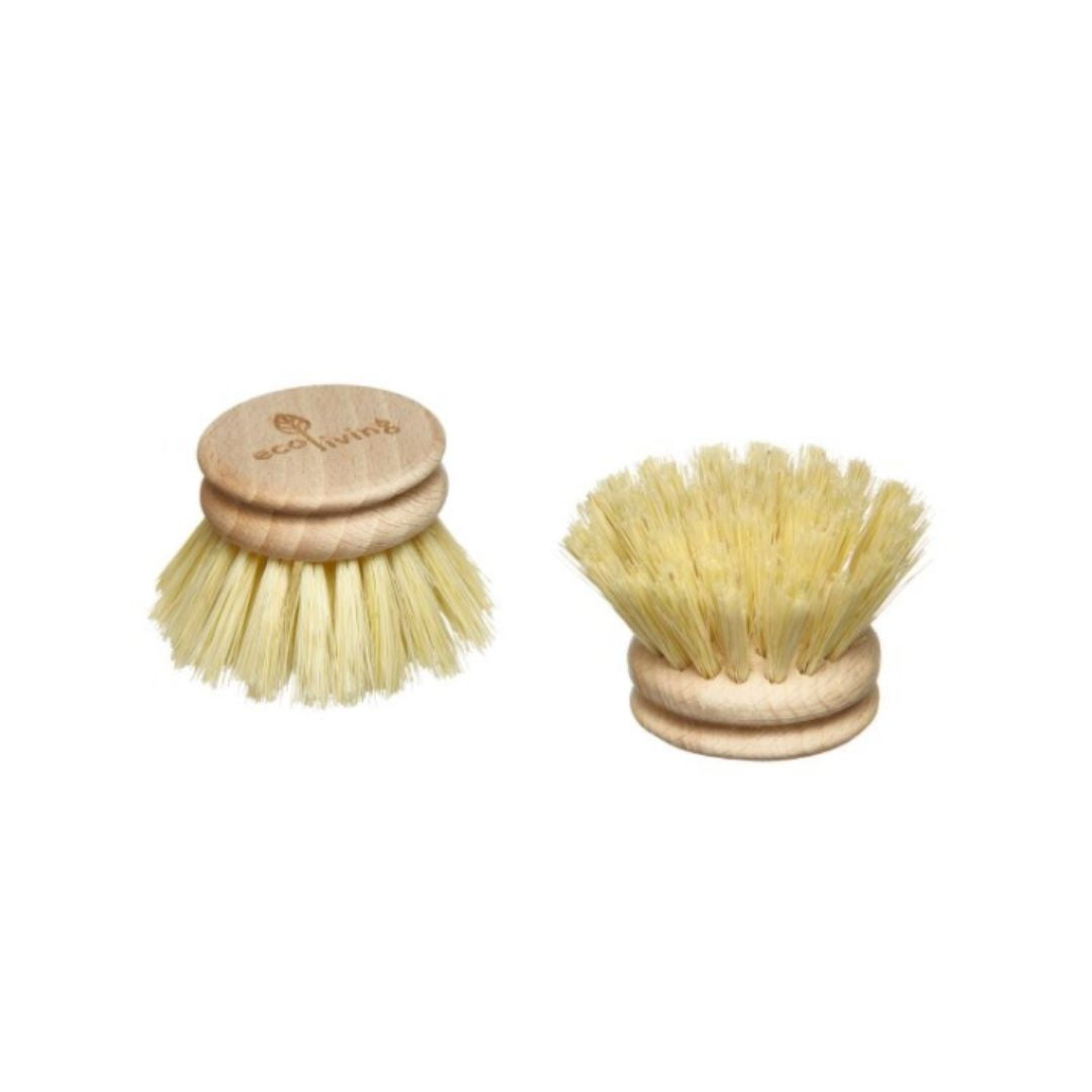 Small Wooden Dish Brush Replacement Head