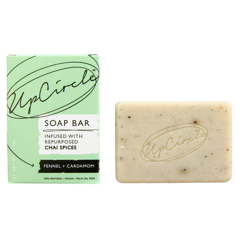 Fennel + Cardamom Chai Soap Bar 100g, plastic free, zero waste, sustainable, Mos eco store, Portugal, Europe,